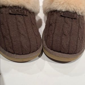 UGG Shoes - Ugg knit slippers
